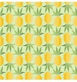 Pineapples in retro style vector image