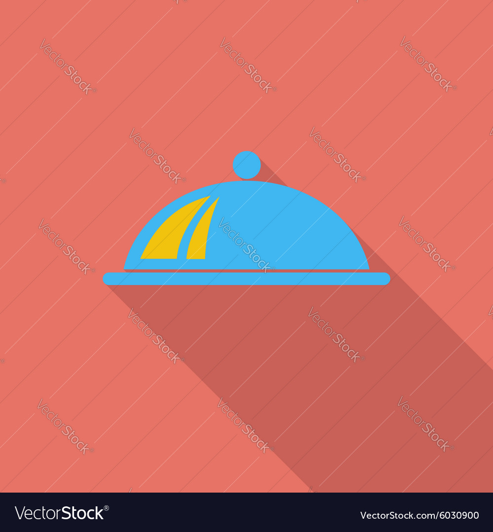 Tray icon vector