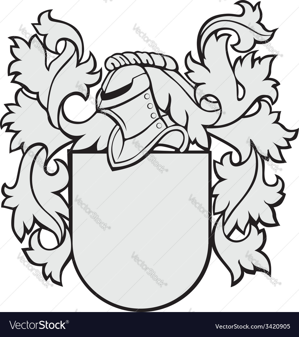Aristocratic emblem no16 vector
