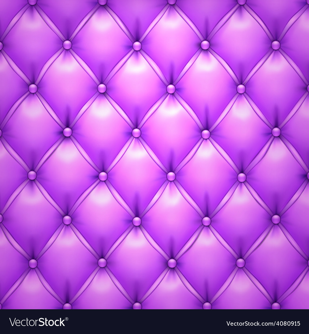 Purple upholstery leather pattern background vector