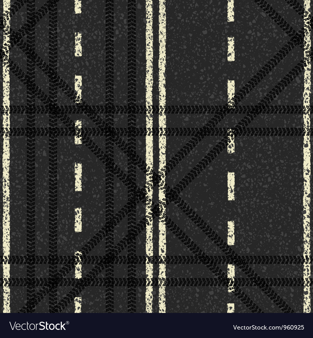 Road skid marks background vector