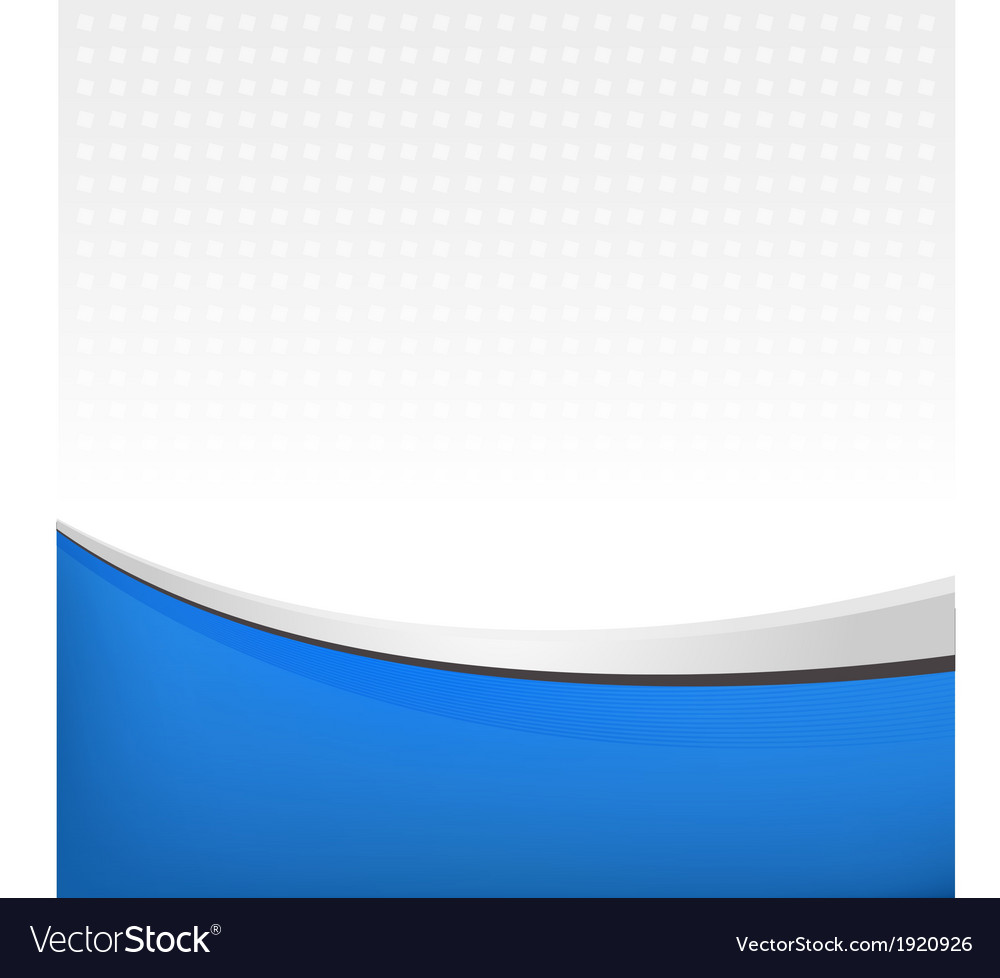 Abstract background in blue color vector