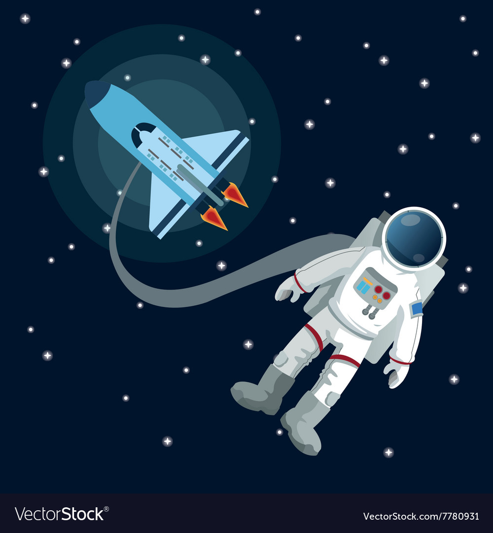 Space icon design vector