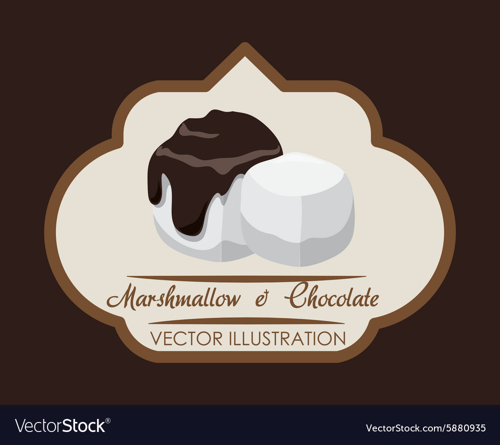 Chcolate design vector