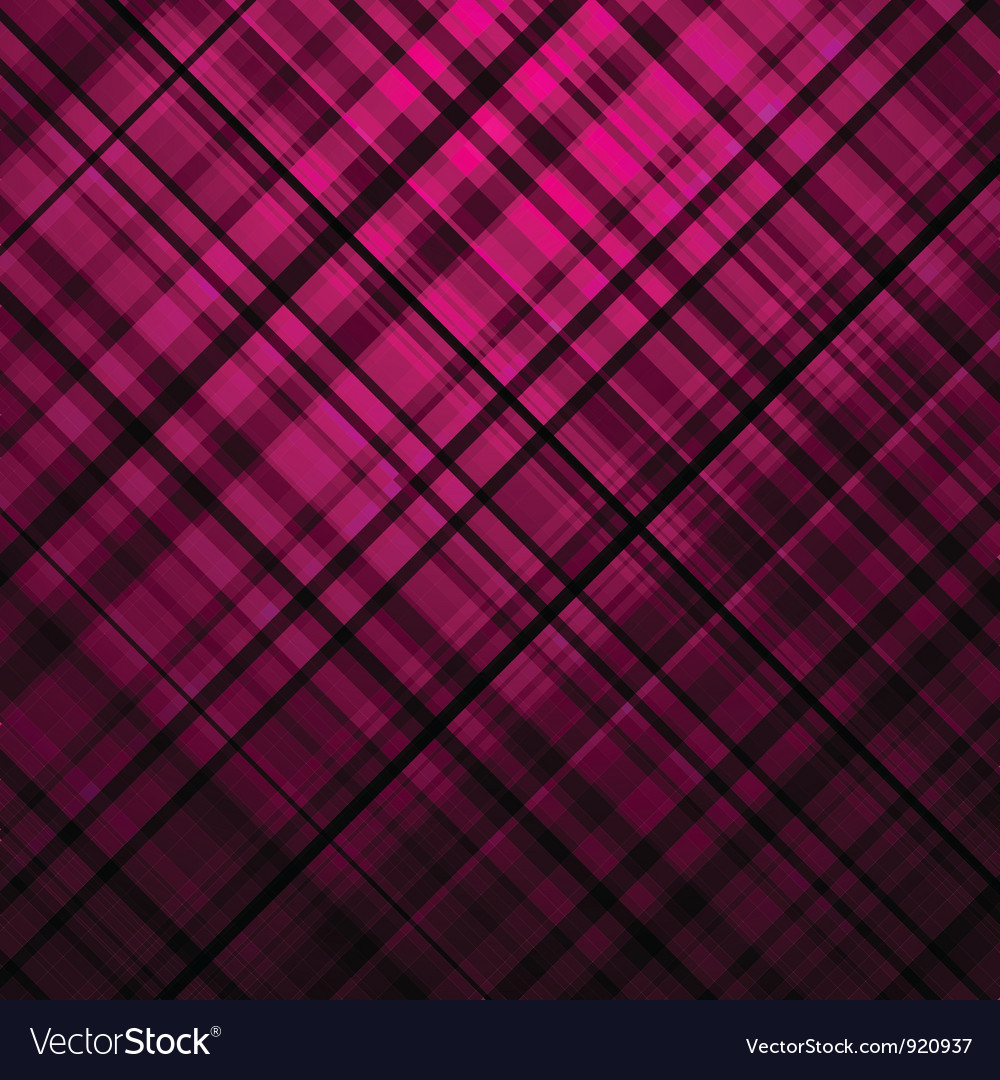 Purple tartan background vector