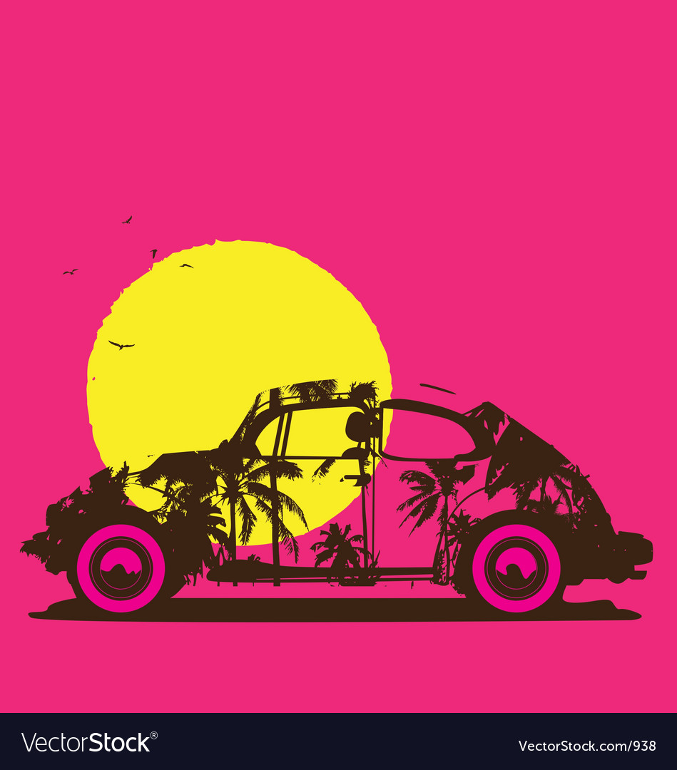 Endless summer vector