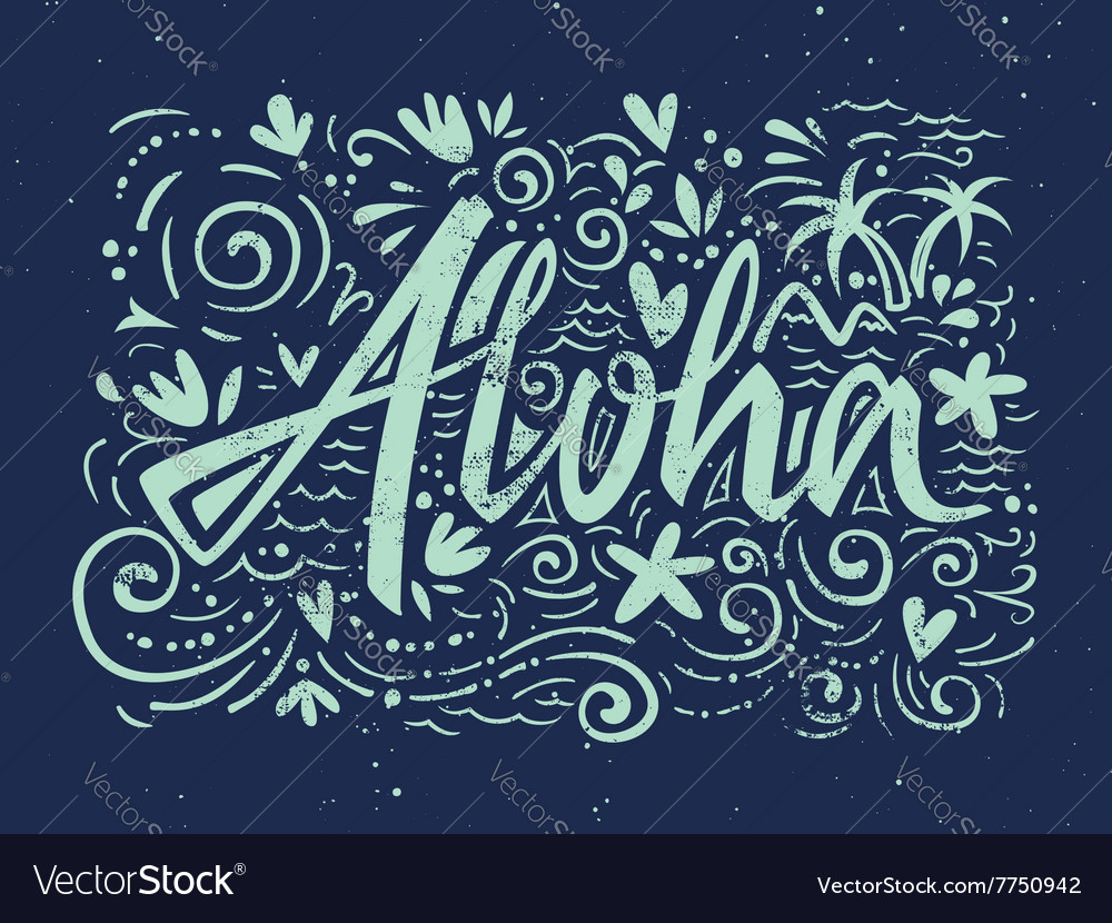Aloha shirts to print vector