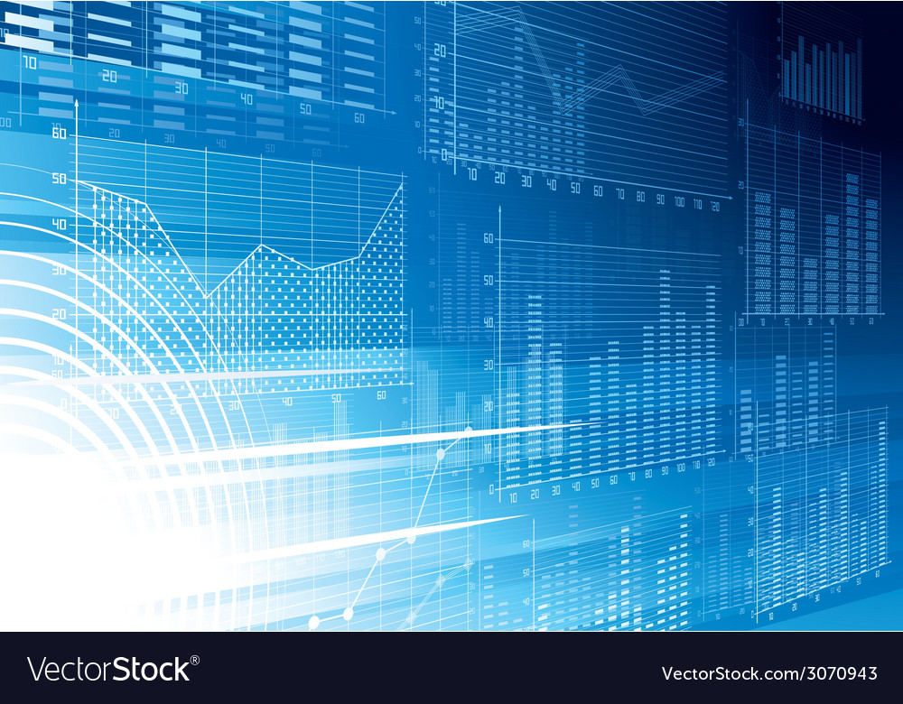 Abstract financial background vector
