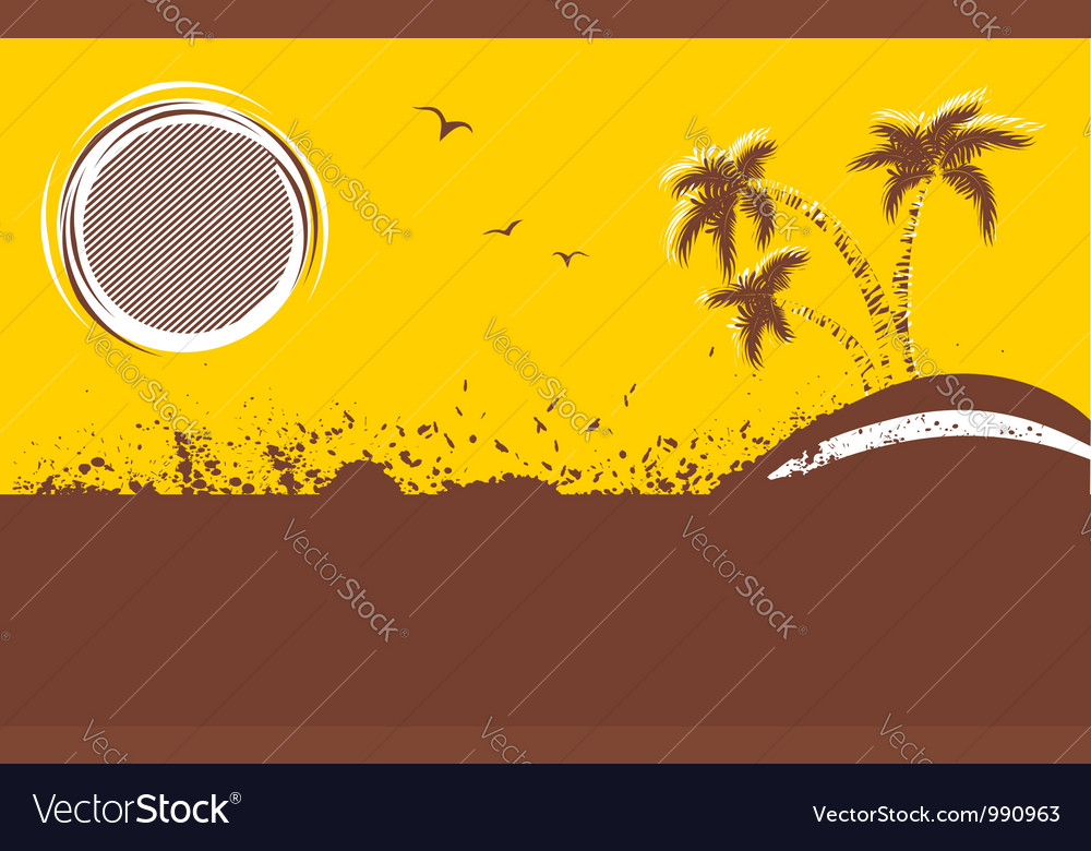 Tropical backgroundabstract image vector