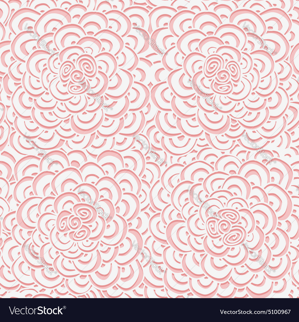 Simple seamless pink pattern vector