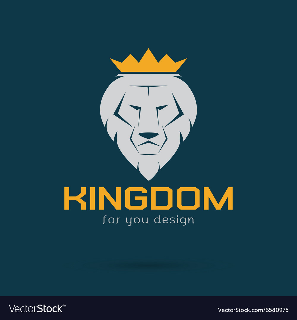 Lion kingdom vector