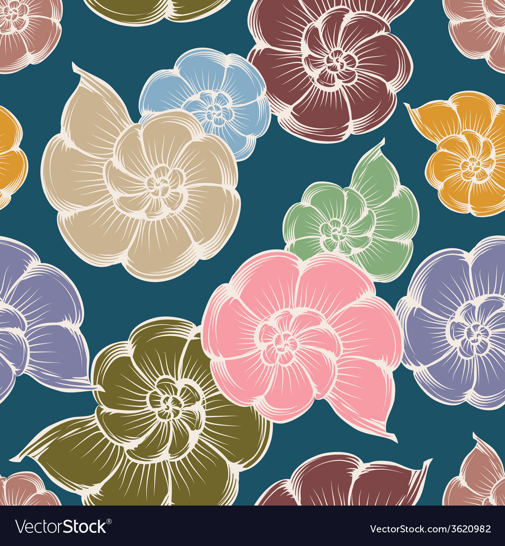 Shells pattern vector