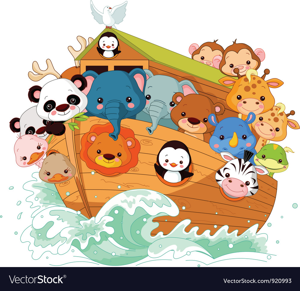 Noahs ark vector