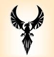 eagle tattoo design vector image