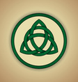 Celtic Knot Symbol of Trinity vector image