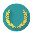 Laurel Wreath flat icon vector image