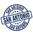 San Antonio stamp vector image