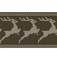 deers border vector image vector image