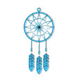 dream catcher icon vector image