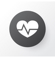 heartbeat icon symbol premium quality isolated vector image