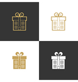Realtor agent architect real estate company logo vector image