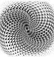 Design monochrome swirl motion background vector image