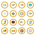 meter icon circle vector image