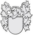 aristocratic emblem No16 vector image
