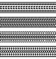 car wheel tracks vector image