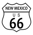 route 66 new mexico vector image