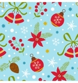 Colorful Christmas seamless pattern vector image vector image