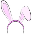 Bunny ears vector image