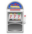 slot machine 02 vector image
