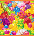 jelly candy vector image vector image