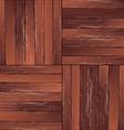 Vintage hardwood floor pattern vector image
