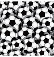 soccer seamless texture vector image vector image