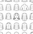 Outerwear design template 45 vector image