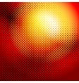 halftone sunrise vector image vector image