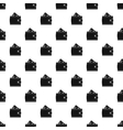 Wallet card pattern simple style vector image