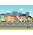 Landscape City Background vector image