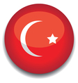 turkey flag vector image vector image