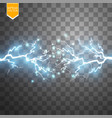 blue abstract energy shock explosion special light vector image