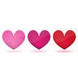 heart symbol isolated vector image