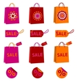 spring sale bags vector image