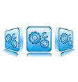 Application icons Smart phone vector image vector image