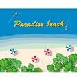 Summer vacation hotel vector image vector image