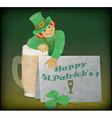 Saint Patricks vector image