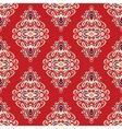 Damask seamless pattern florish vector image