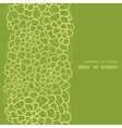 abstract green natural texture vertical frame vector image vector image