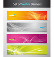 web headers vector image
